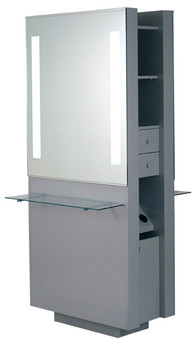 Belvedere Opal Double Styling Station
