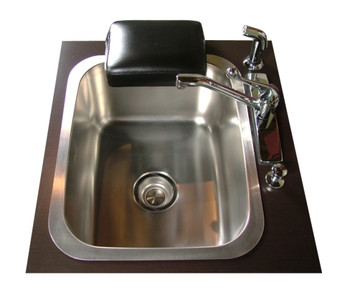 Collins Stainless Steel Triple Pedicure Unit