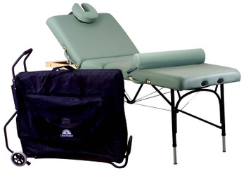 Oakworks Alliance Aluminum Massage Table Traveler Accessory Package