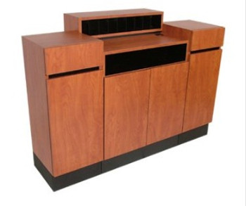 Collins Reve Standing Reception Desk