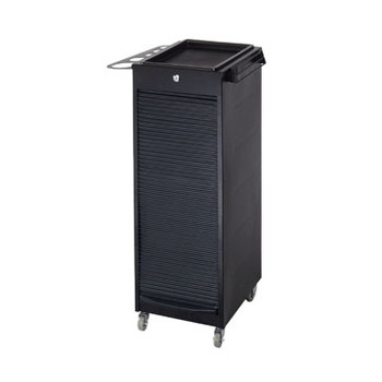 Paragon Metal Hair Trolley w/ Roll-Up Door