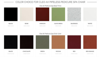 Cleo AX Pipeless Pedicure Spa Chair