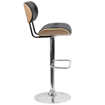 Canton Adjustable Salon Stool