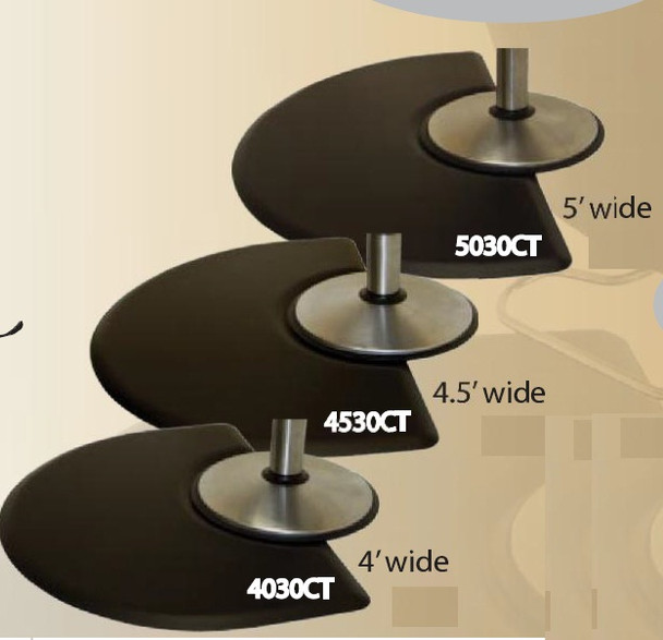 Comfort Style 5' Wide Salon Mat