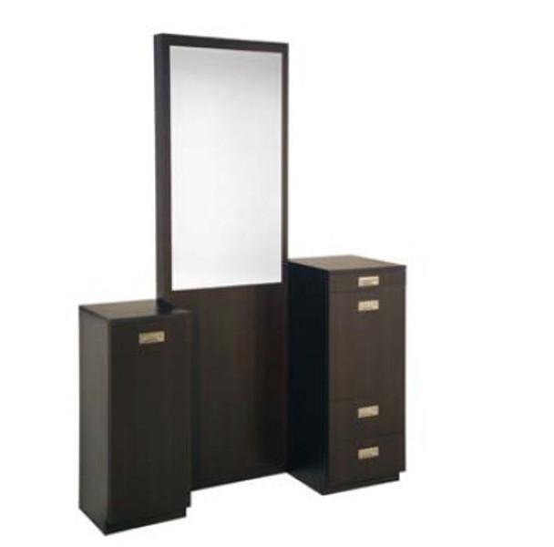 Belvedere Kalli Floor Vanity With Mirror
