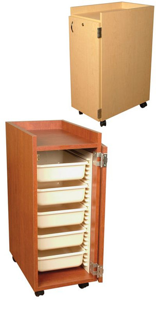 Jeffco Cameo Rollabout Storage Cabinet