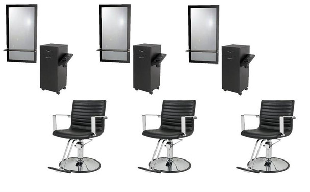 Pizzazz Styling Salon Package