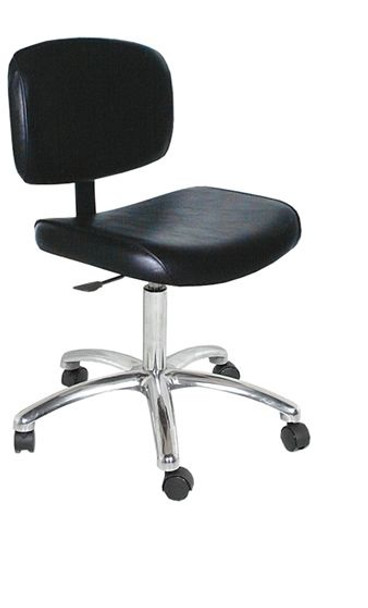Collins QSE Manicure Stool w/ Casters and Gas Lift