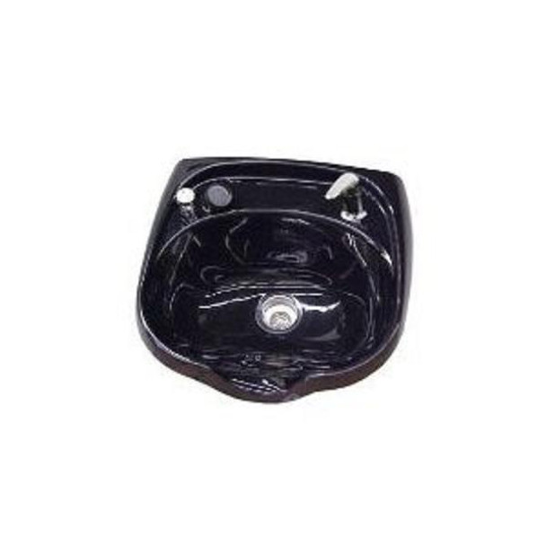 Jeffco Black Oval Shampoo Bowl
