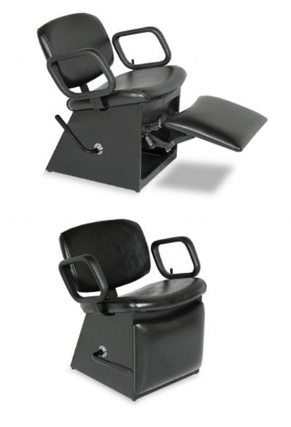 Collins QSE Shampoo Chair with Kick-Out Legrest