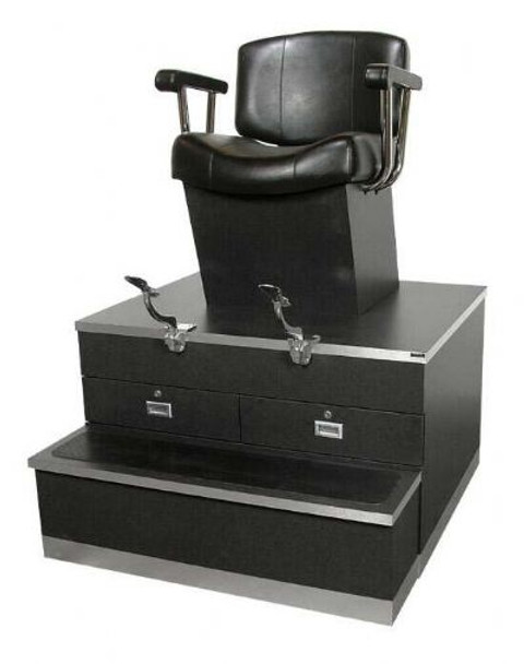 Collins Continental Shoe Shine Stand