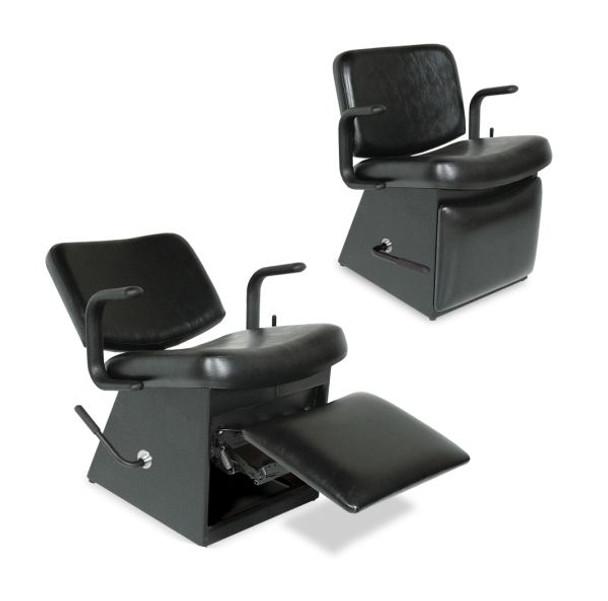 Collins Monte Shampoo Chair with Kickout Legrest