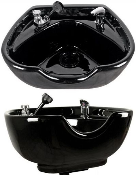 Jeffco Porcelain Heart Shaped Shampoo Bowl and fixtures