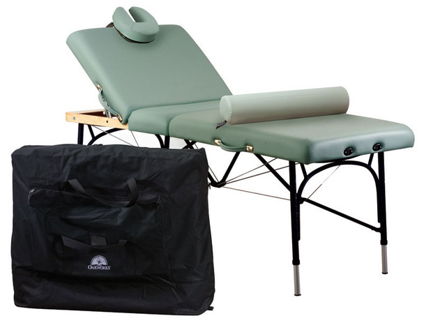 Oakworks Alliance Aluminum Massage Table Student Accessory Package