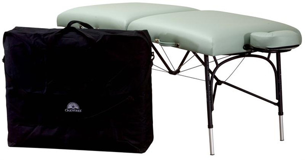 Oakworks WellSpring II Massage Table Basic Accessory Package