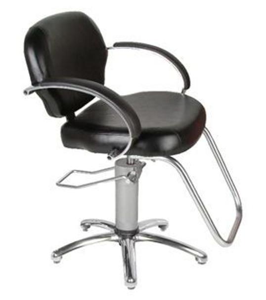 Collins Cirrus Hydraulic Styling Chair with Slim-Star Base