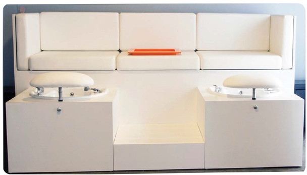 Belvedere Custom Pedicure Bench