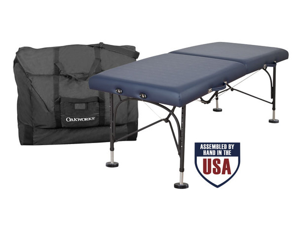 Oakworks Boss Massage Table Package