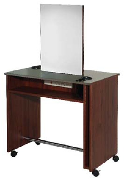Belvedere Vantage Convertible Manicure Table and Vanity