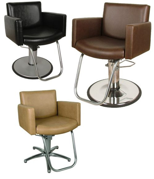 Collins Cigno Hydraulic Styling Chair