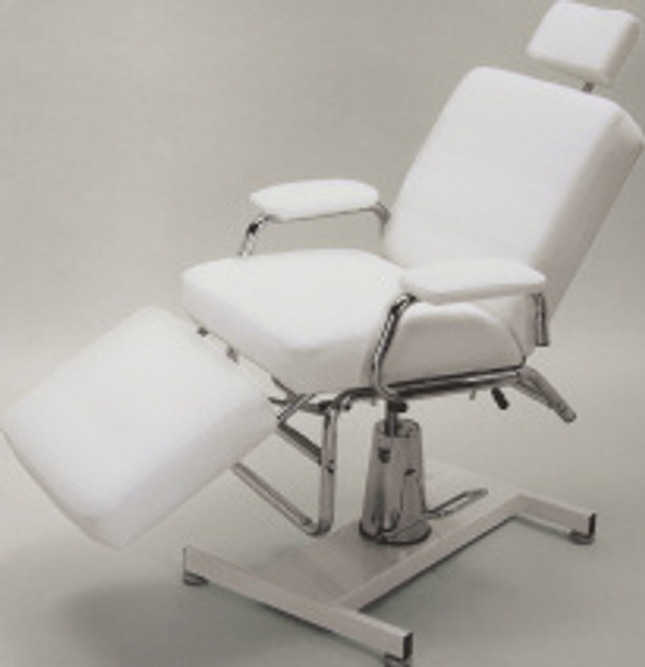 Pibbs Facial Chair with Hydraulic Base Long