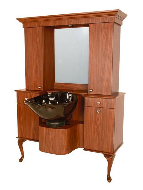 Collins Bradford B Vanity Wet Booth Unit
