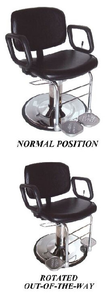 Collins Access Hydraulic Styling Chair