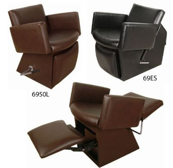 Collins Cigno Shampoo Chair with Kick-Out Leg Rest