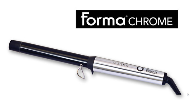 Forma Chrome Curling Wand 1.25
