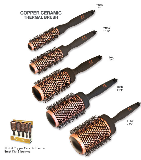 Copper Ceramic Brushes