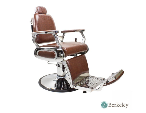 Hunter Barber Chair Brown