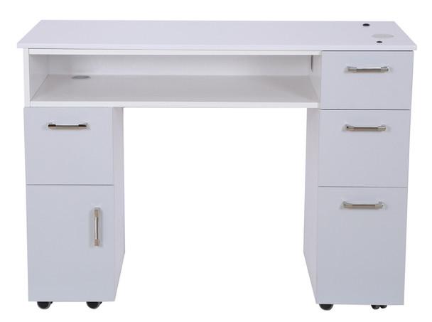 Hunter Milan Manicure Table (ash grey)