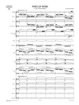 Respighi - Pini di Roma - Full Score and Orchestral Parts