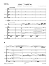 Strauss Oboe Concerto Op.144 for Oboe and Small Orchestra - Score and Parts