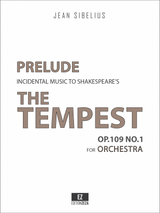 Sibelius: The Tempest Op.109 No.1 Prelude Score and Parts