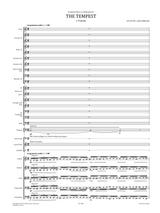 Sibelius: Der Sturm Op.109 No.1 Vorspiel Score and Parts