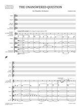"Charles Ives ""The Unanswered Question"" sheet music, Full score and orchestral parts"