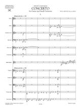 Villa-Lobos Guitar Concerto sheet music, Score and Orchestral parts
