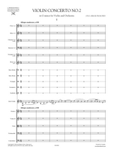 Prokofiev: Concerto for Violin and Orchestra No.2 Op.63 - Score and Set of parts