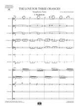 Prokofieff Love for the Three Oranges Op.33b , set of parts sheet music