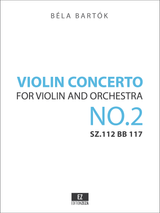 Bartok - Violin Concerto No.2 SZ.112 BB 117, Full Score and Set of Parts