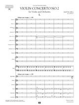 Sheet Music for Bartok Violin Concerto No.2, Score and Parts