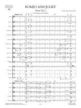 Romeo and Juliet Suite No.2 Op.64ter Sheet Music, Set of Parts
