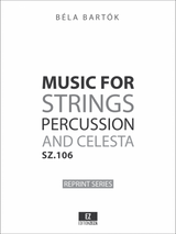 Bartok Music for Strings, Percussion and Celesta , sheet music, score