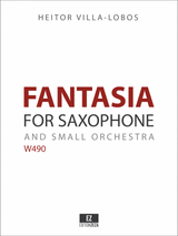 Villa Lobos: Fantasia for Saxophone and Orchestra sheet music parts