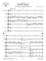 Villa-Lobos Fantasy for Sax and Orchestra - orchestral parts sheet music