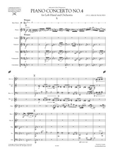 Prokofiev Piano Concerto No.4 for Left Hand and Orchestra - Orchestral parts sheet music