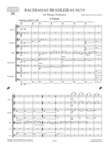 Villa-Lobos Bachianas Brasileiras No.9 W449, Sheet Music. Score and Orchestral parts.