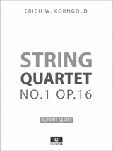 Korngold String Quartet No.1 Op.16 Score and Parts