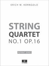 Korngold String Quartet No.1 Op.16 Score and Parts
